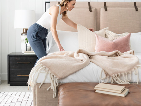 How to Style Bedroom Pillows
