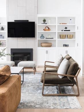 Tips for Styling Open Shelves
