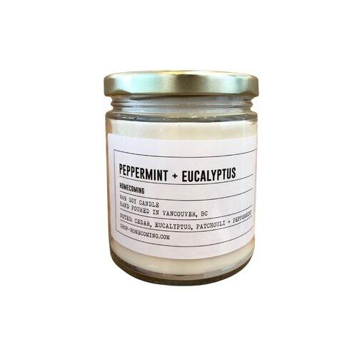 PEPPERMINT + EUCALYPTUS CANDLE