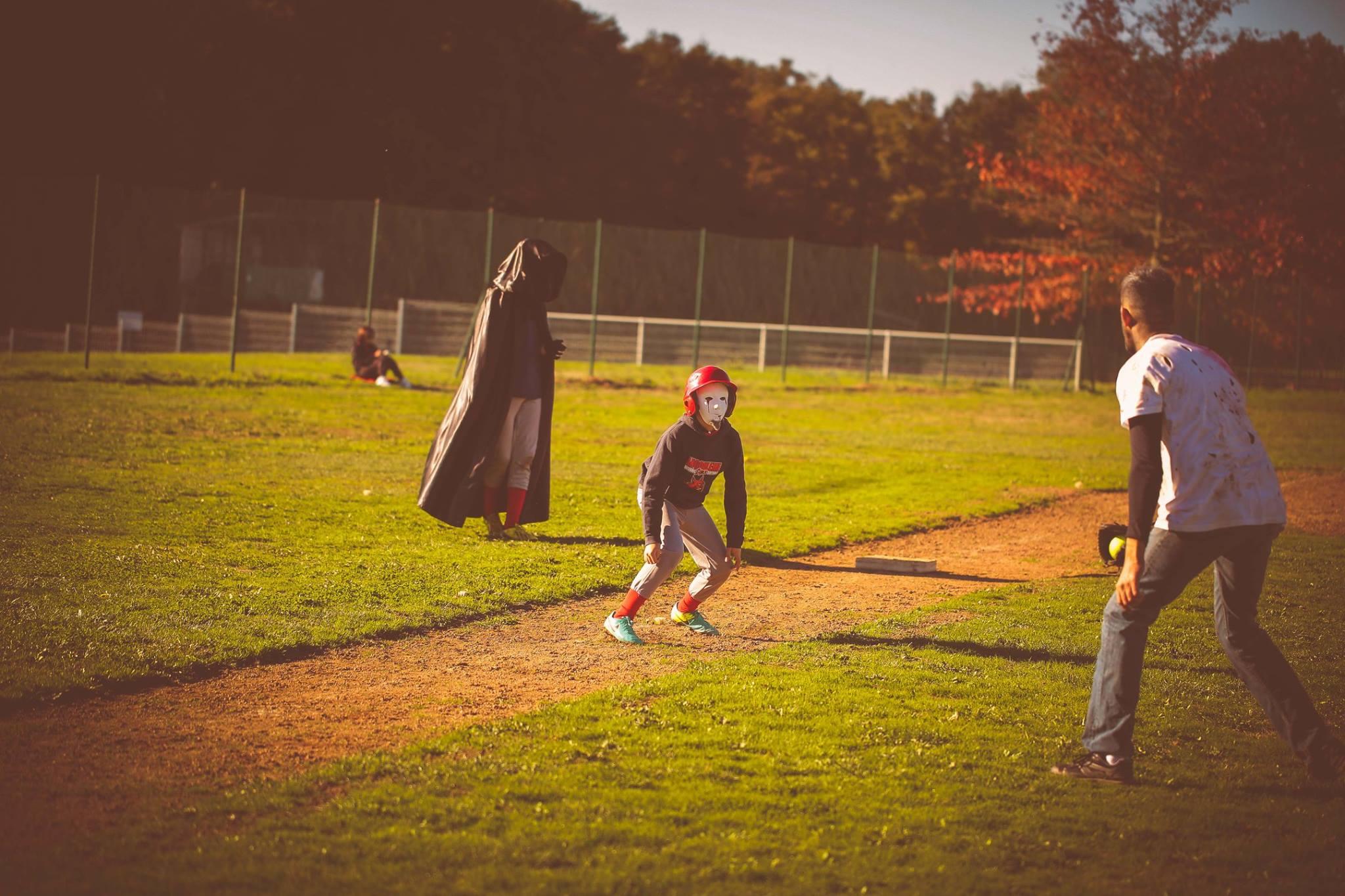halloween game baseball angouleme