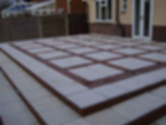 Mixing slab and block