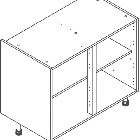 Base Cabinet or Drawer Pack -720mm x 1000mm
