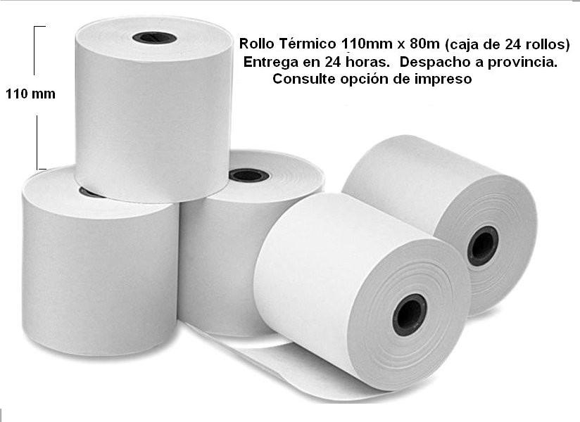 Rollo Térmico110mm x 80m