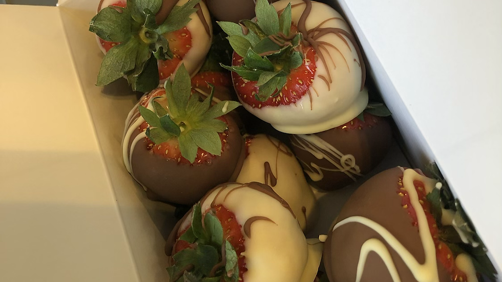 Ballotin de fraises