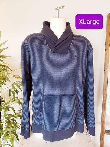 Chandail bleu Tommy Hilfiger XL