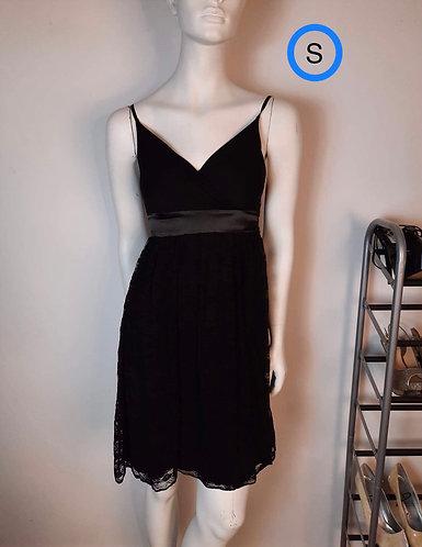 Robe noir dentelle Bedo S