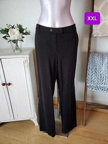 Pantalon noir Reitmans XXL (20)
