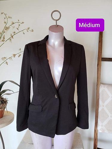 Veston noir H&M M (10)