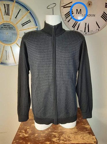 Veste laine gris noir Distinction M