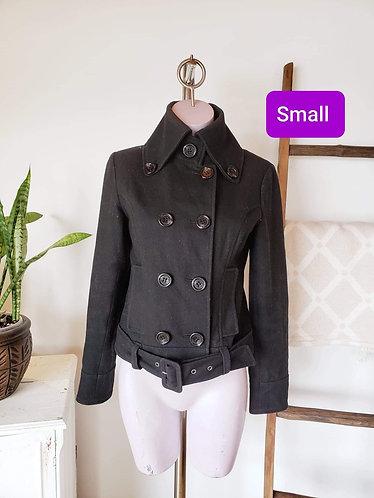 Manteau noir Guess jeans S