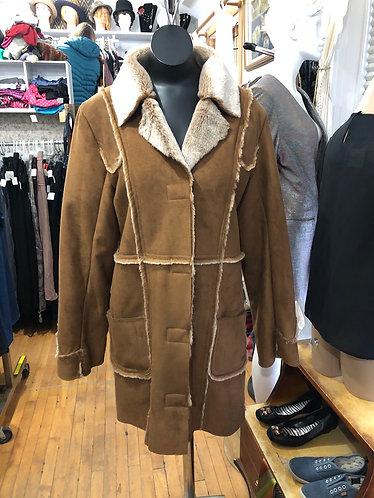 Manteau mi-saison acrylique Point zéro S