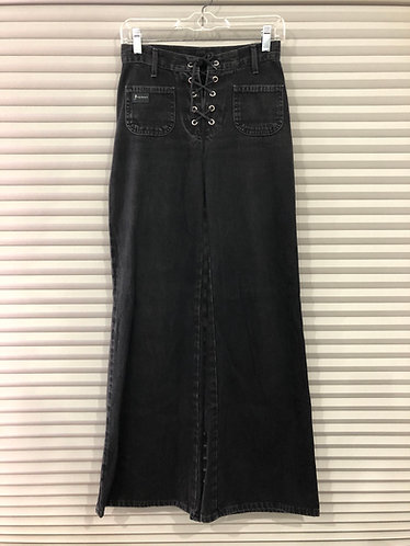 Jeans noir Thumdry XS (26)