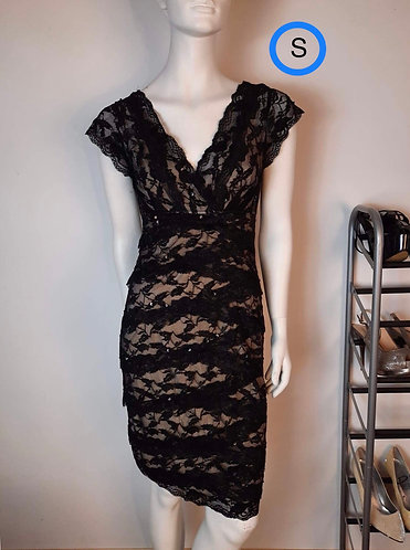 Robe noir dentelle JS collection (6)S