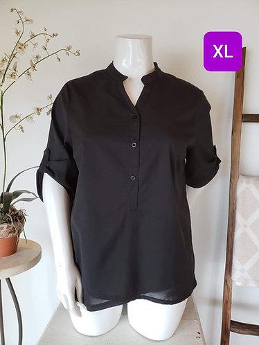 Blouse noir Claire France 18 (XL)