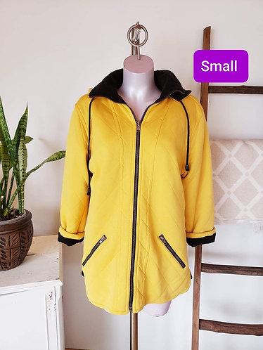 Manteau réversible jaune noir Spanner S
