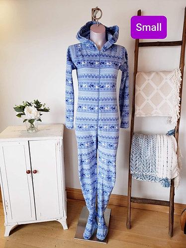 Pyjama one piece bleu La vie en rose S