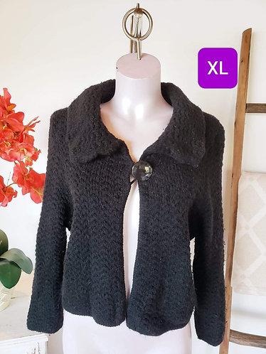 Veste noir Contemporaine XL