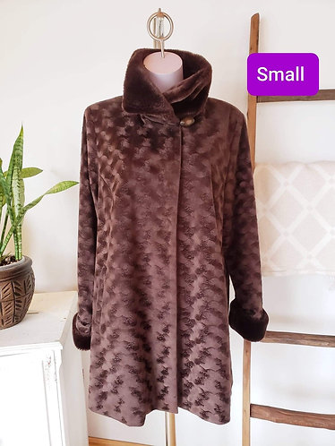 Manteau brun Spanner S