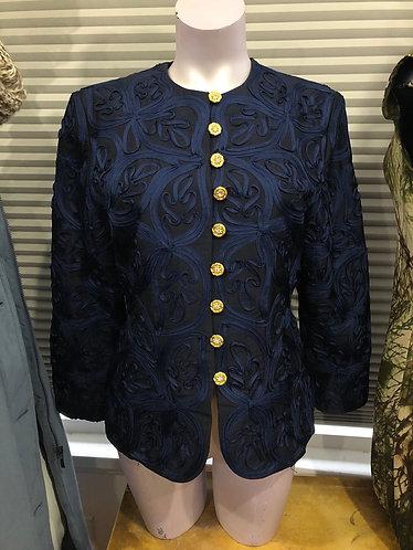 Veston vintage Thai silk 100% L=M