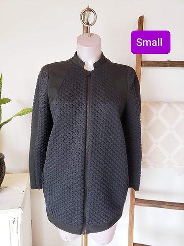 Manteau mince marin et noir Zara S