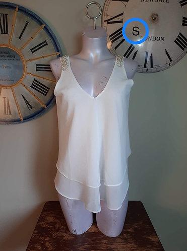 Camisole blanc Ness S