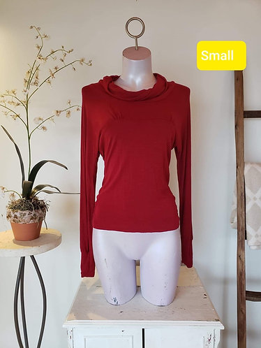 Chandail rouge Anonyme sans toi S