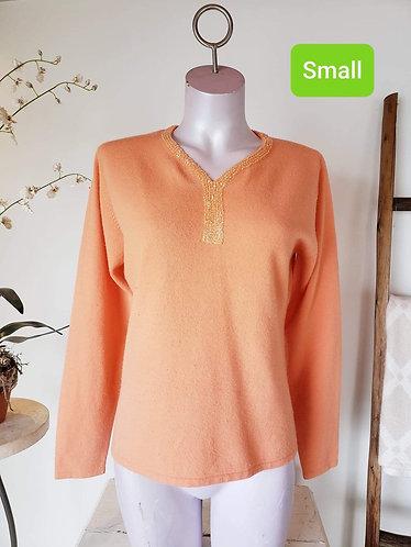 Chandail orange Nonpareil S