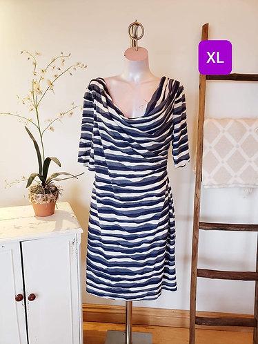 Robe bleu Connected (16) XL