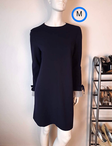 Robe bleu marin Mango M