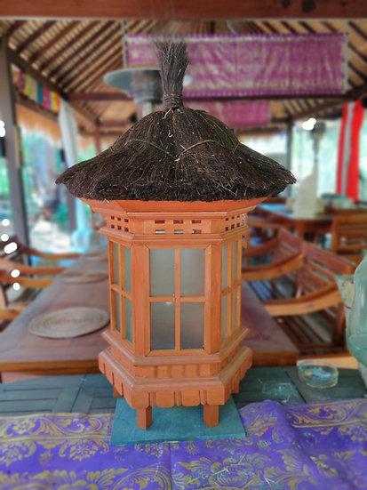 Hairy Hat Windowed Lantern