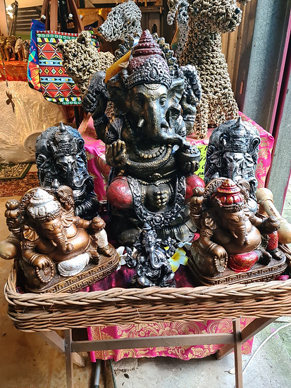Ganeshas Various Sizes and Colours