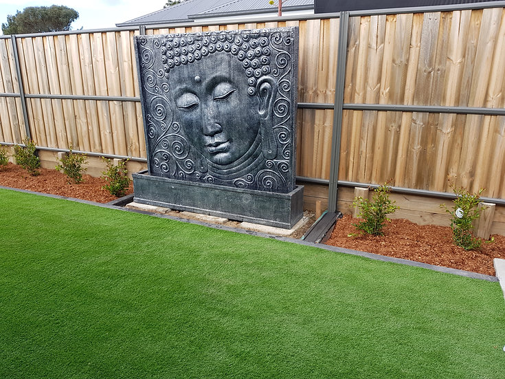 Large Buddha Relief Water Feature