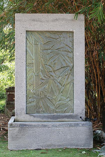 Glass Panel Water Feature
