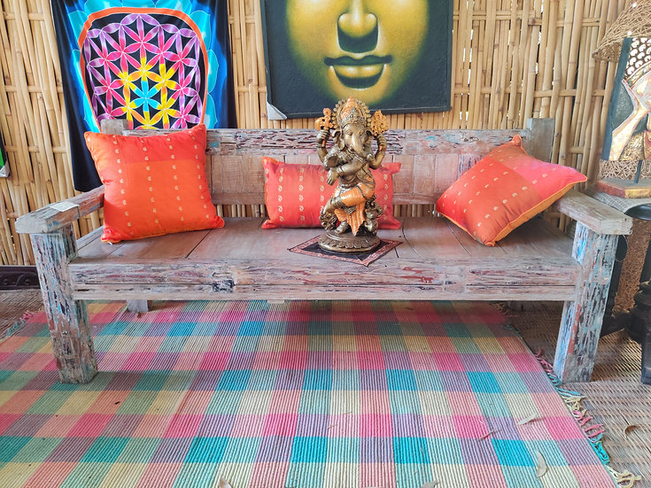 Recycled Boat Teak Daybed