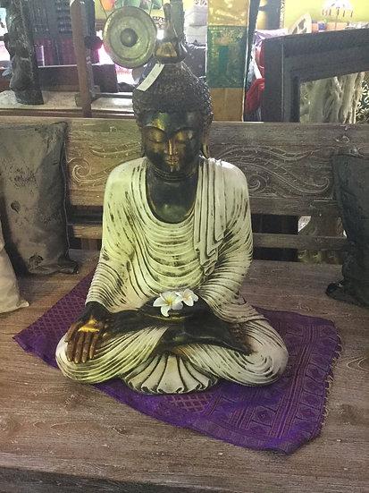Large Resin Sitting Buddha