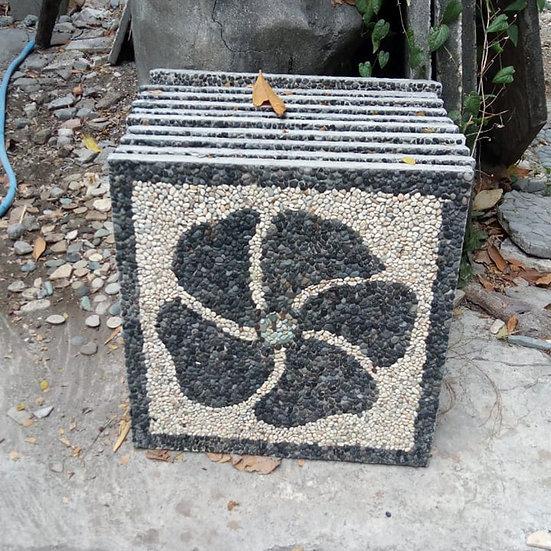 PREORDER - Handmade Floral Pebble Tiles