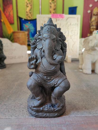 Black Standing Ganesha