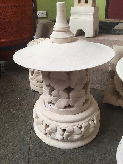 Hand Carved Sandstone Round Lights