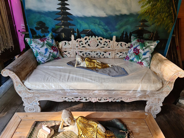 Recycled Teak Daybed