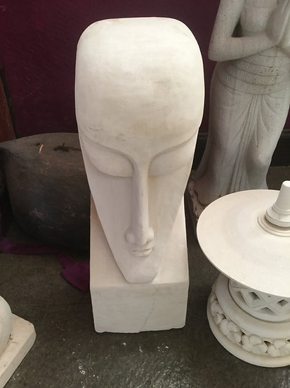 Easter Island Style Head