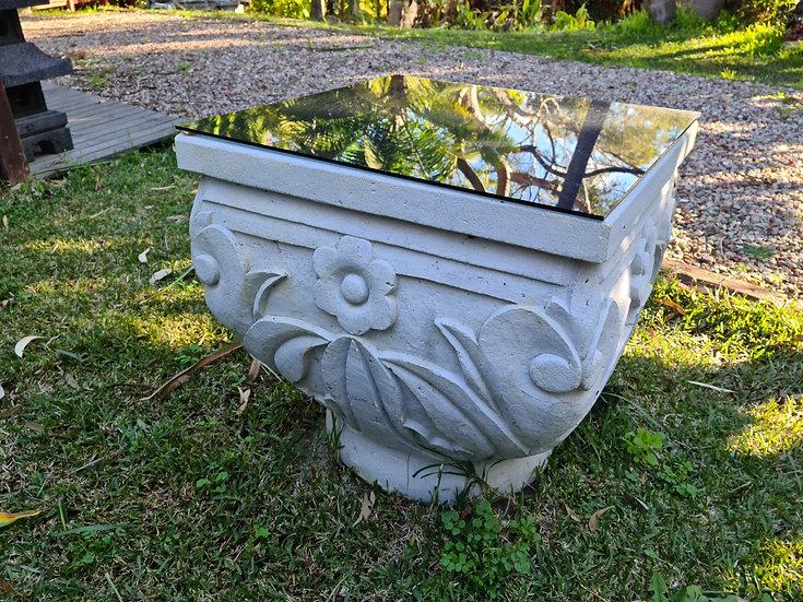 Composite Stone Coffee Table / Pedestal