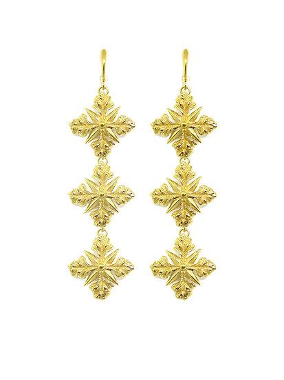 Golden Penelope earrings