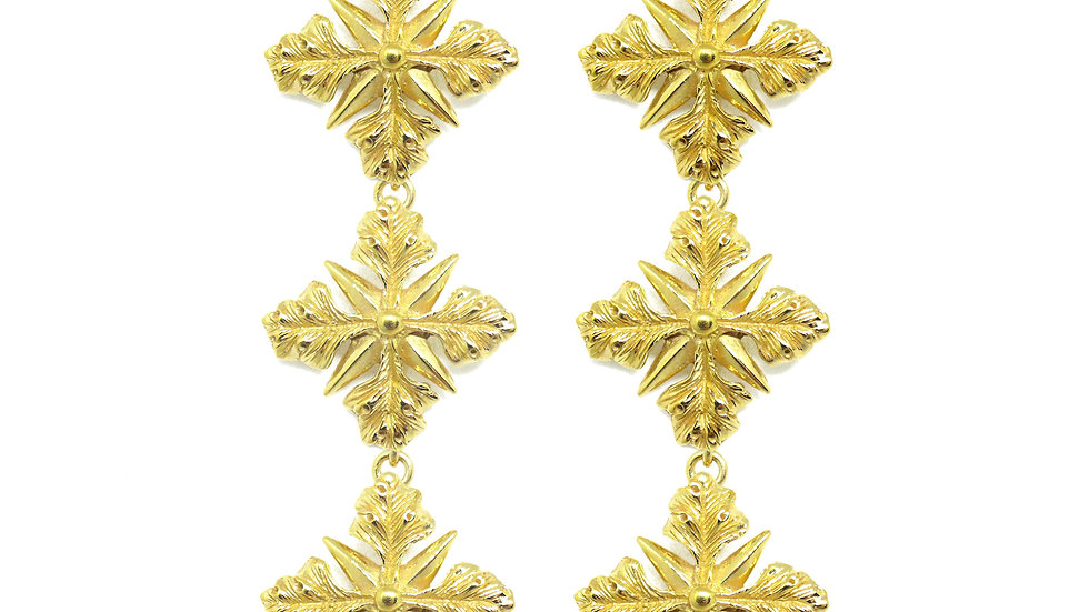 Golden Penelope earrings