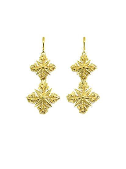 Golden Artemide earrings