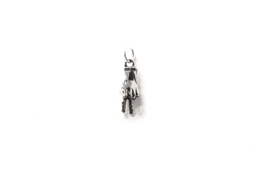 Peace micro pendant