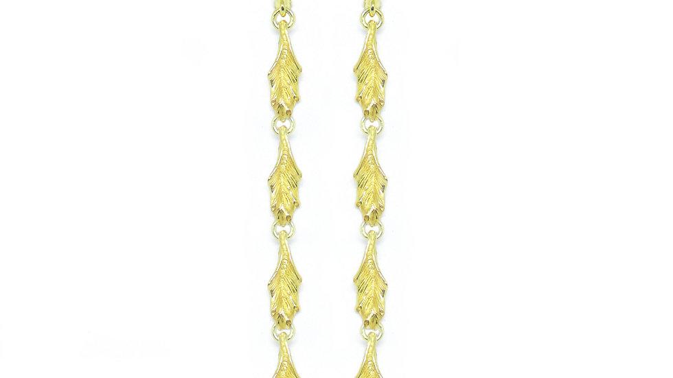 Golden Andromeda earrings