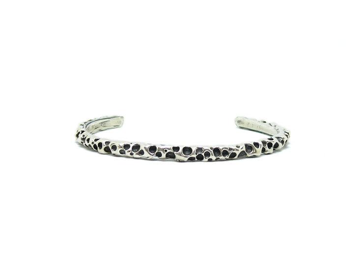 Volcano bangle bracelet