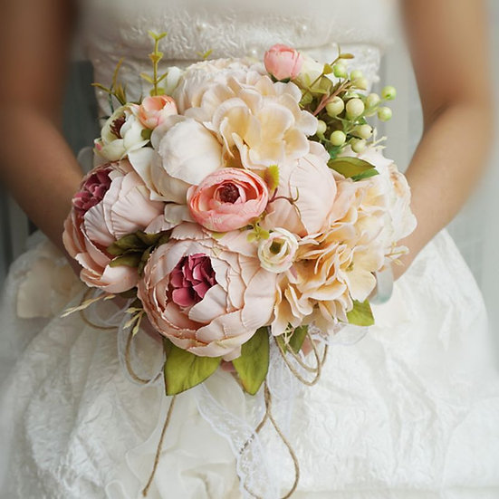Rustic Style Bridal Bouquets