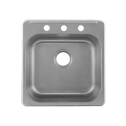 SINGLE BOWL TOP MOUNT KITCHEN SINK