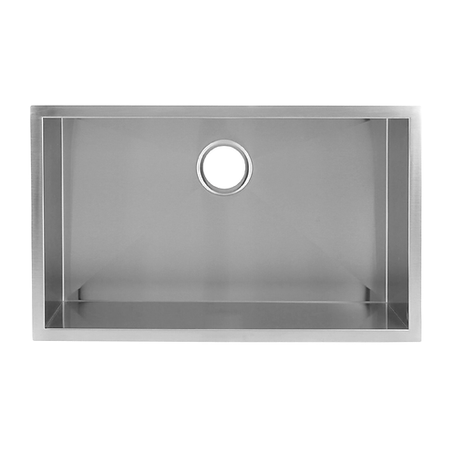 HANDMADE SINGLE BOWL UNDERMOUNT KITCHEN SINK